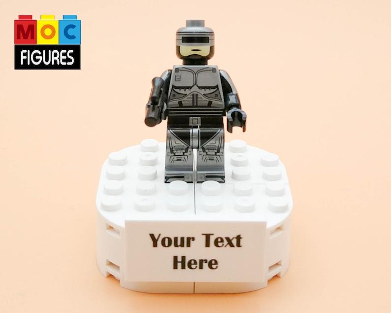 Genuine Lego Custom Printed THE DRAGON Bruce Lee Lego Minifigure NEW