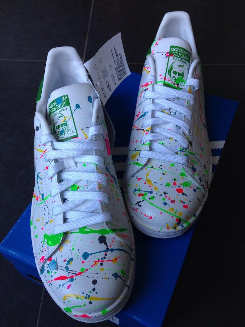Adidas Stan Smith iniziale personalizzata rFf8nwBK