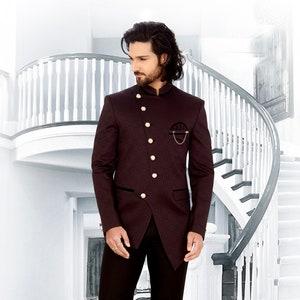 Indian Men Designer Royal Wedding Bottons suit for  Reception Elegant Traditional Ethnic Partywear dress mehendi occasion poshak set
