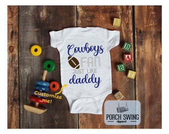 Dallas Cowboys shirt t-shirt tee Baby jersey Newest fan personalized customized