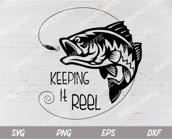 Download Bass Fish Svg Cut Files For Cricut Lure Svg Fish Etsy