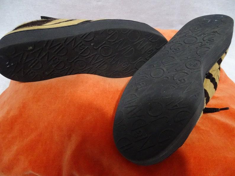 Sneakers vintage JOAN E DAVID zebra fatti a mano in Italia HfLLirlu