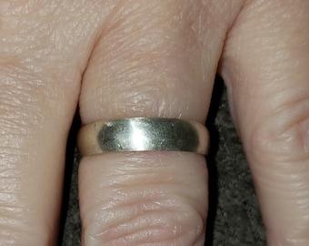 Rustic Handmade Sterling Silver Rings