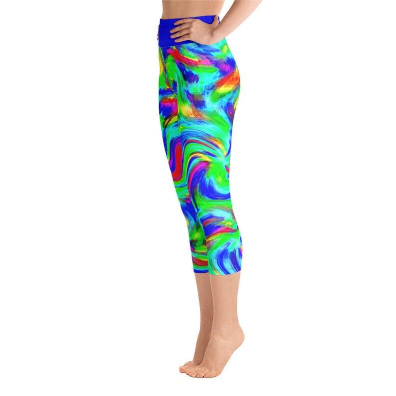 High Waist Leggings Mermaid/'s Tresses Women/'s Capri Leggings; Yoga Leggings; Women/'s Leggings