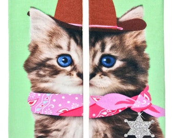 3bbe12808 Cowboy Kitty Glitter Ankle Socks OSFM by Living Royal