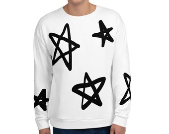 Star Gazer Adult Crewneck Sweatshirt DC Comics