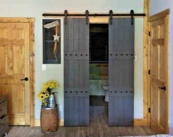 Double barn doors | Etsy