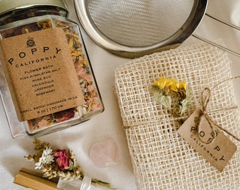 Ritual Bath Kit, Ritual Bath Set, Ritual Bath Soak, Ritual Bath Salt, Spa Gift Set, Bath Salt Gift, Self Care Box, Self Care Kit, Healing