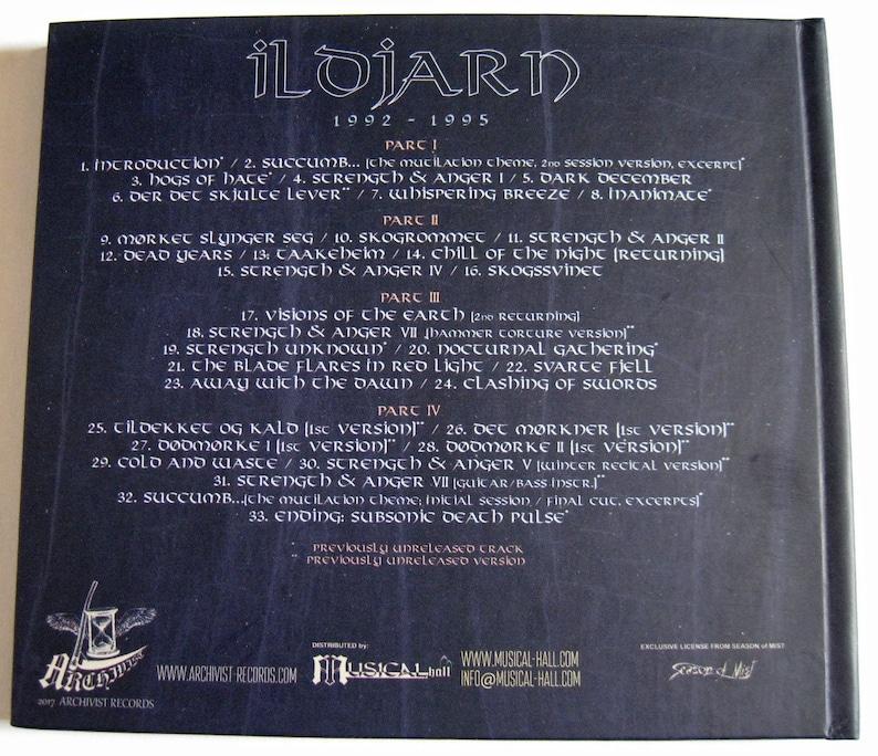 ILDJARN 1992 1995 (Digibook CD)
