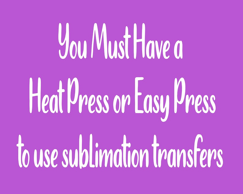 The kind One-ready to press sublimation transfer full color transferheat transfer