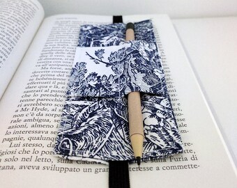 """Bookmark """"Wrapping"""" Provence (with blue decorations)"""