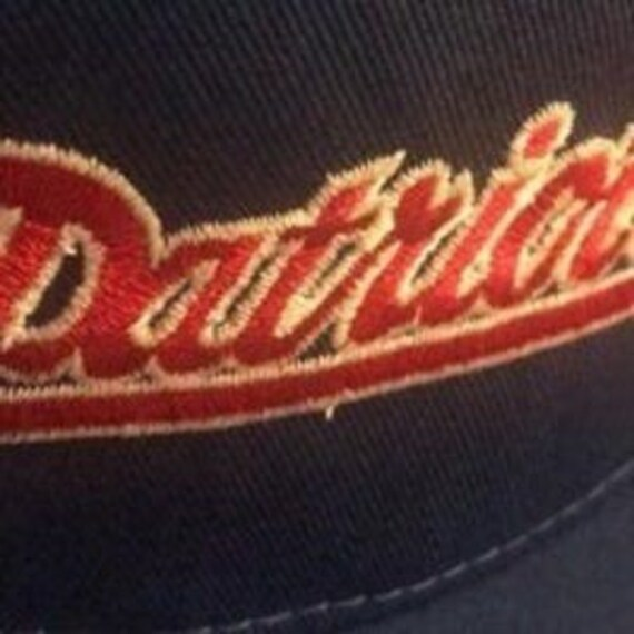 NWT Vintage New England Patriots Snapback Hat - image 2