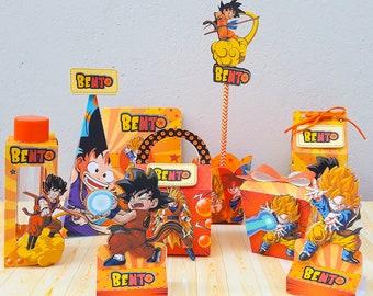 Dragon Ball Z Party Supplies Etsy