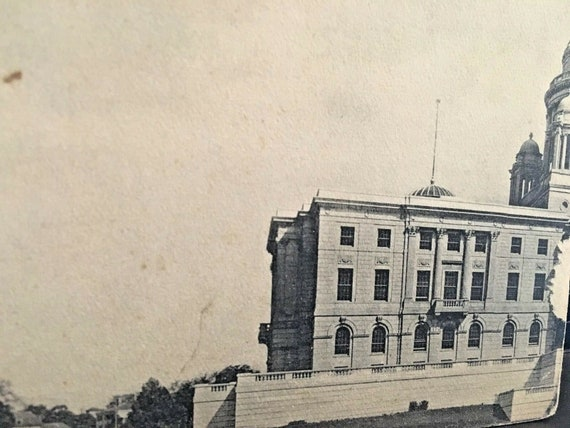 Postcard View of Rhode Island State Capitol in 190