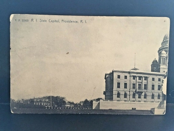 Postcard View of Rhode Island State Capitol in 19… - image 2