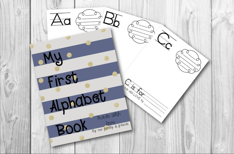 photograph regarding Abc Book Printable called Babys To start with ABC E book, Printable ABC E book, Babys 1st Alphabet E book, Do-it-yourself abc Ebook, My To start with abc ebook, Youngster Shower, Armed service Blue