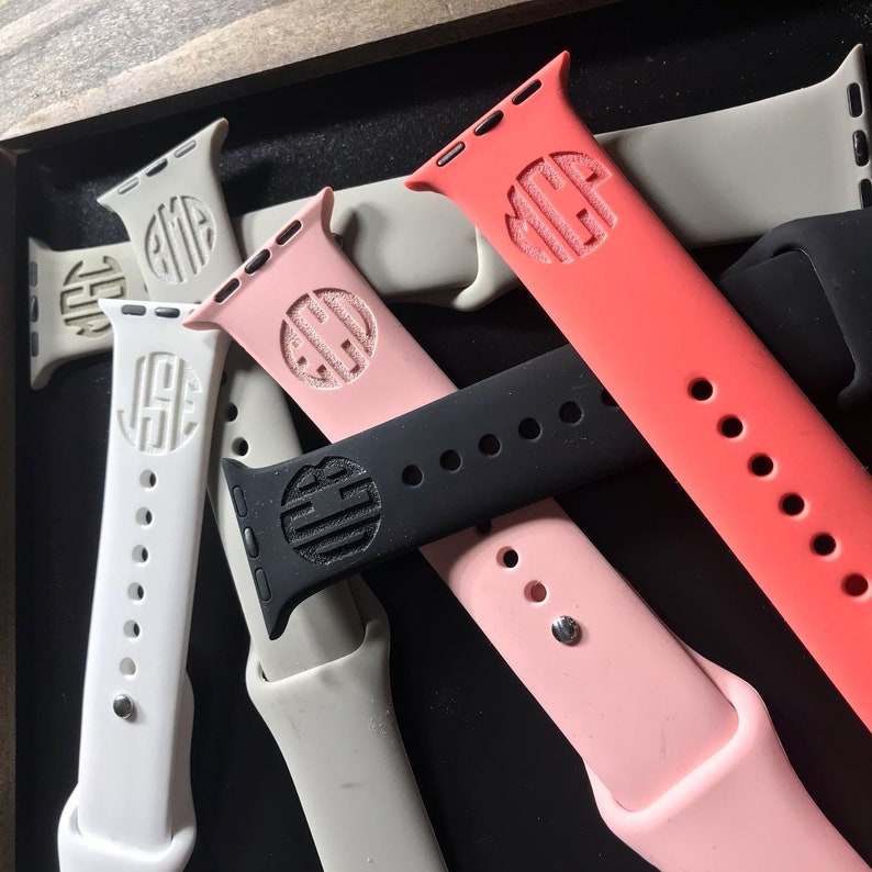 Laser custom engraved personalized watch bands to fit your image 0