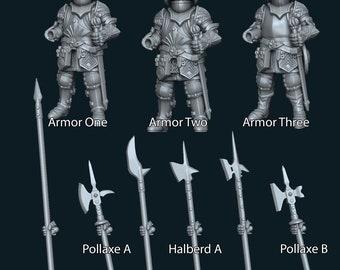 Heavy Human Infantry (One Modular Hand)