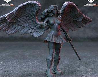 Angel Female Warrior