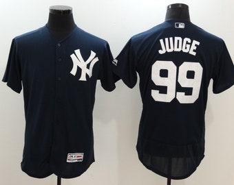 6e377ef81 Men s Aaron Judge  99 New York Yankees Navy Blue Stitched Baseball Jersey