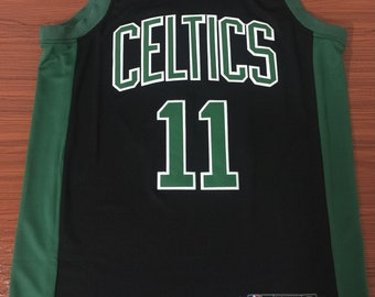 e3eba36f5 Men s Boston Celtics  11 Kyrie Irving Black NBA Swingman Statement Edition  Jersey