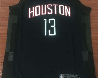 7abce62f669 Men s Houston Rockets  13 James Harden Black Stitched Basketball Jersey
