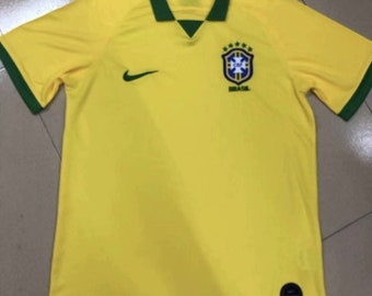 e54c4a4d5 Brazil 2019 20 Custom Home Men Soccer Jersey Football Shirt