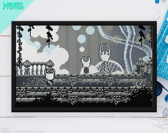 Sekiro lamp Cross stitch pattern instant download PDF Dark Souls sculptor/'s idol bonfire Videogame Bloodborne