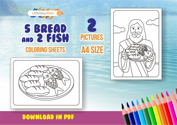 - Bible Story Coloring Pages For Kids New Testament Story Etsy