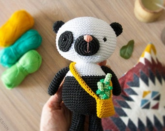Super Cute Panda Crochet Patterns You Will Love | The WHOot | 270x340