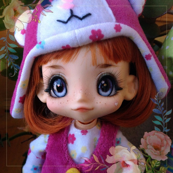 Realistic DOLL EYEs for BJD KikiPOP dolls with magic effects. Play doll kikipop lively look beautiful eyes. For custom order
