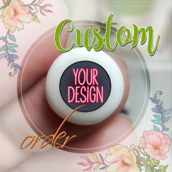 Custom order with YOUR design for pair of EYEs. I will develop desing for doll eyes and make the eyes that you dreamed :) Custom order