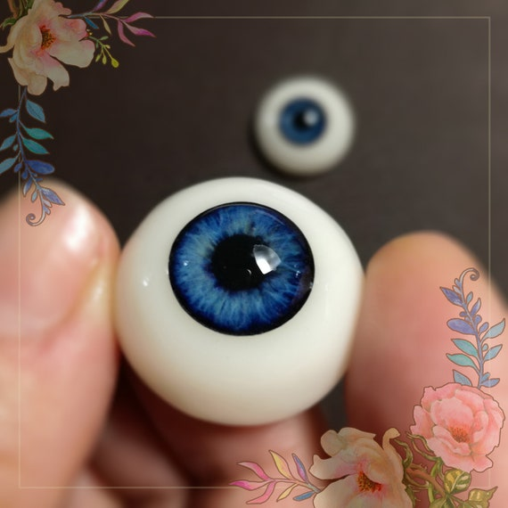 Realistic REBORN pair of EYEs  22-23mm for reborn dolls, baby dolls, collection dolls, art toys.In stock ready to ship. SALE off 15%