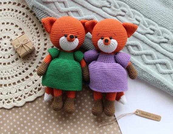 Foxy-Five Nights at Freddy's Insprired Crochet Plush | Crochet ... | 441x570