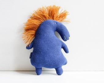 Horsy – Designer Unique, Cuddly Toy, Toy, Unique Piece, Environmentally Conscious
