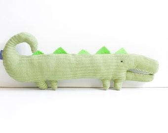Crocoro – Designer Unique, Cuddly Toy, Toy, Unique Piece, Environmentally Conscious