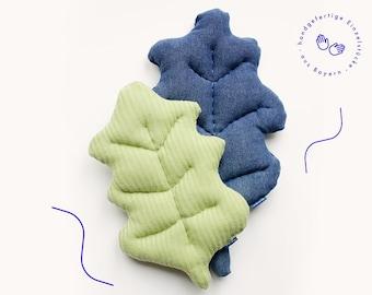 "Leaves ""Oak"" – unique designer, pillows, toys, unique pieces, environmentally conscious"