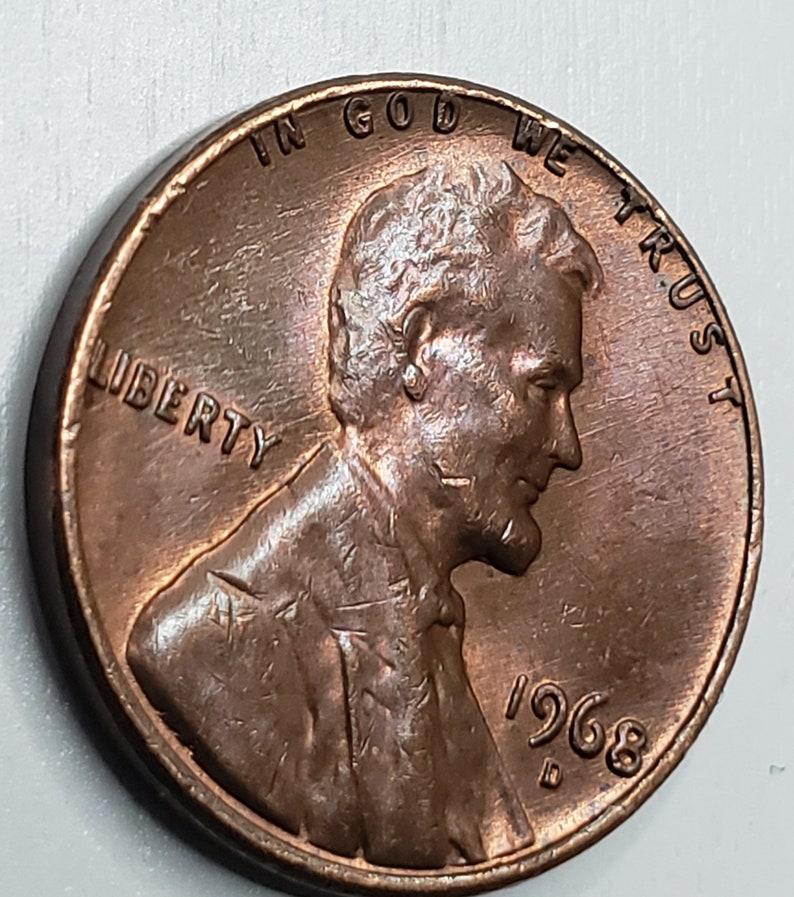 1968 D Penny