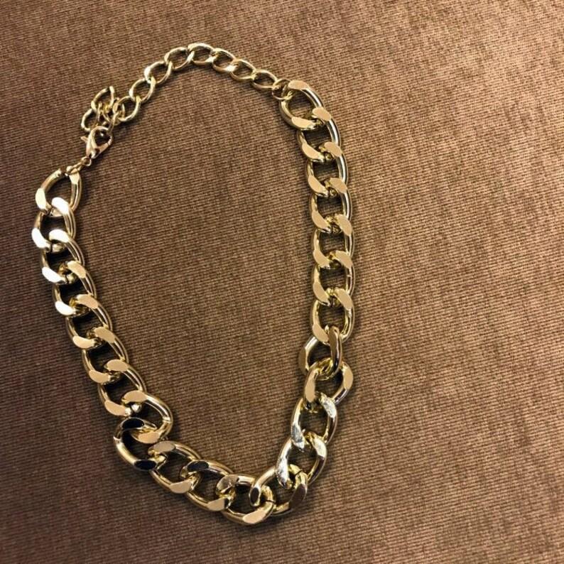 chain choker mens choker chain Gold cuban link choker women choker cuban link xxxtentacion choker chain Silver choker chain