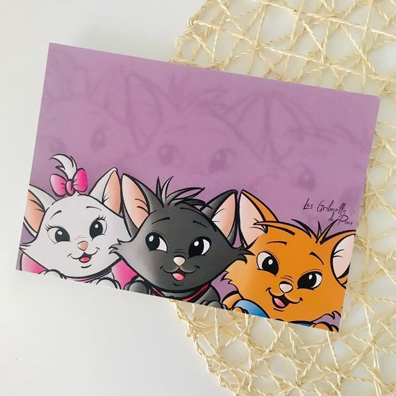Disney carte postale Postcard CPM LES ARISTOCHATS