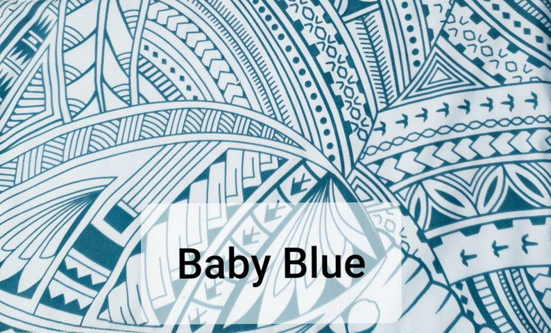 Polynesian Baby Blanket Baby Blanket Newborn gift Baby Shower Gift Baby Boy Gift Baby Girl Gift Newborn Baby Blanket Newborn Baby