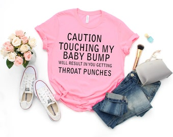 51b9394bc3d Cacution Touching My Baby Bump Will Result In You Getting Throat Punched