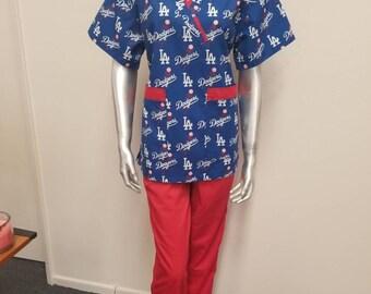 d415fcd1795 Dodgers scrubs | Etsy