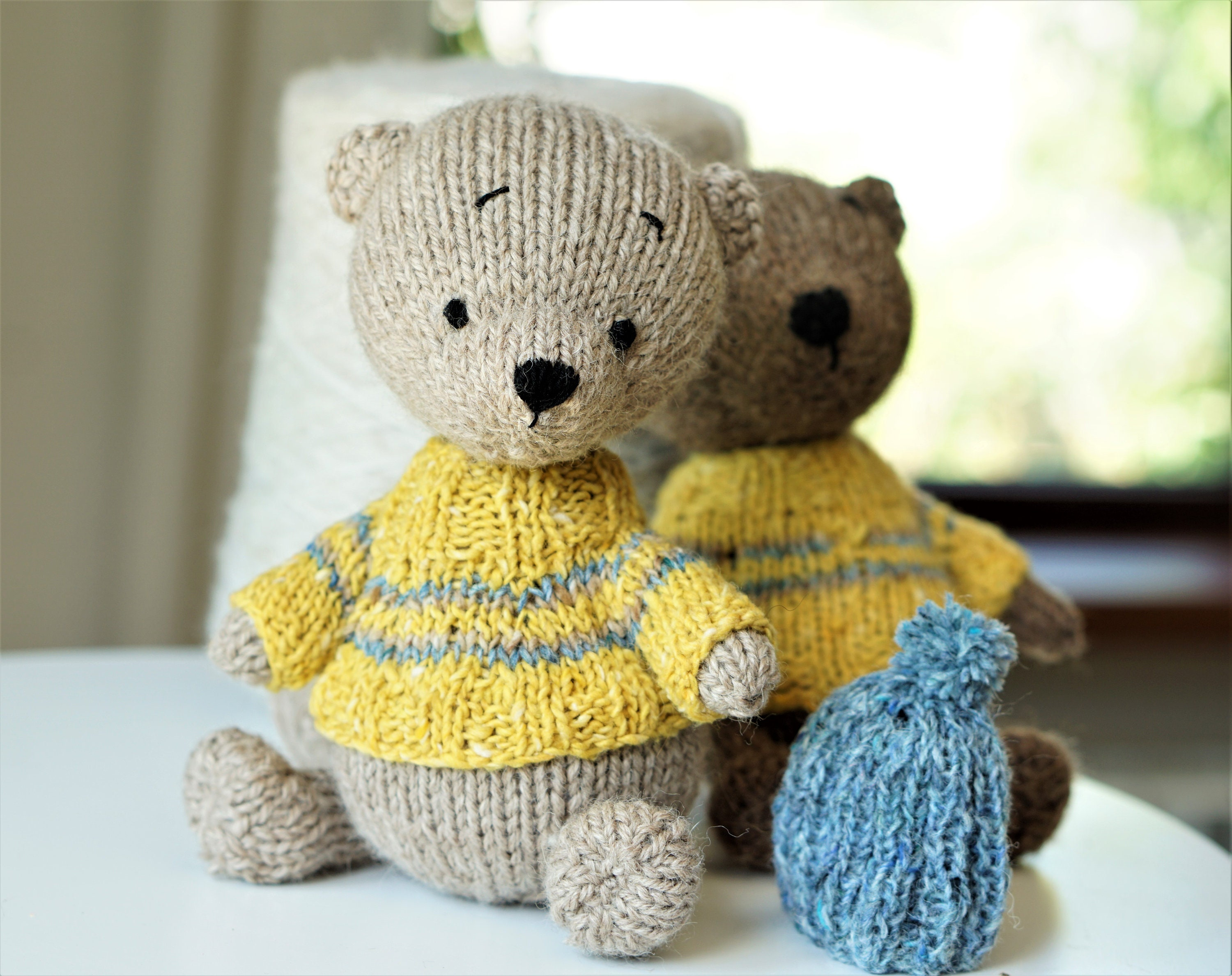 Teddy bear knitted toy patterns pdf Knit Animals