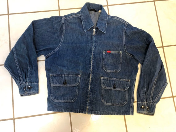 50's Big Smith light work denim Jacket M