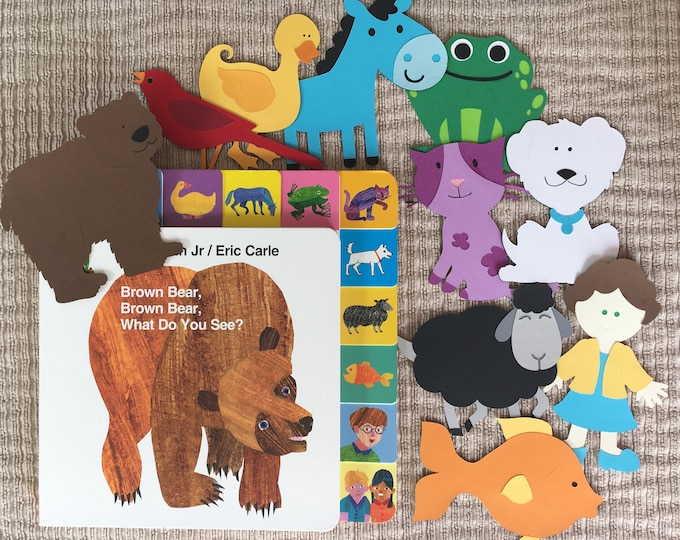 Brown Bear, Brown Bear Storybook Character Props