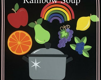Magical Rainbow Soup Felt Board / Puppet Characters