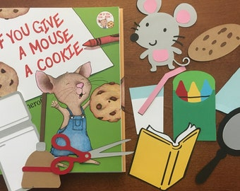 If You Give a Mouse a Cookie  Storybook Character Props