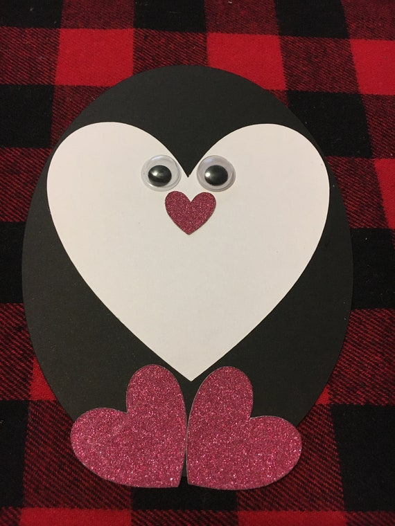 Penguin Valentine Craft / Card
