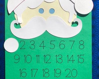 """6 """"Countdown to Santa"""" Craft Kits"""
